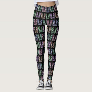 Pop Scotty Patterned Leggings