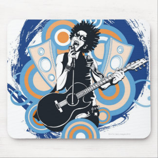 Pop Star Mouse Mat