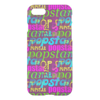 Pop Star Typography Pattern iPhone 7 Case