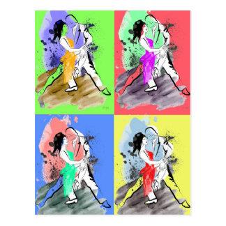 Pop Tango Postcard