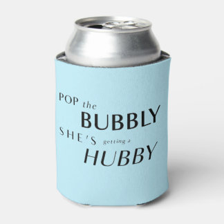 Pop The Bubbly, She's Getting a Hubby! Favor