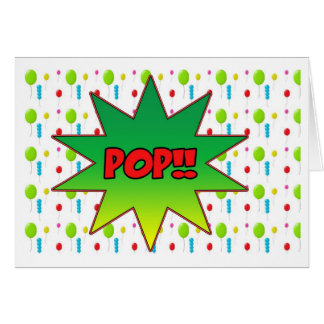 Pop The Question Greeting Card