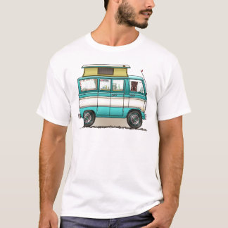 Pop Top Van Camper Camping Apparel