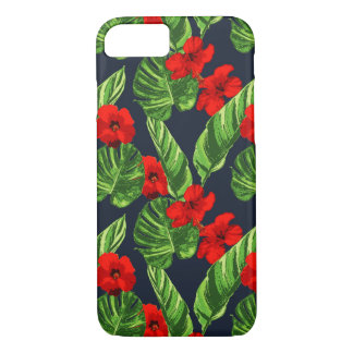 Pop Tropical Leaves Seamless Pattern Series 3 iPhone 8/7 Case