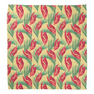 Pop Tropical Leaves Seamless Pattern Series 4 Bandana