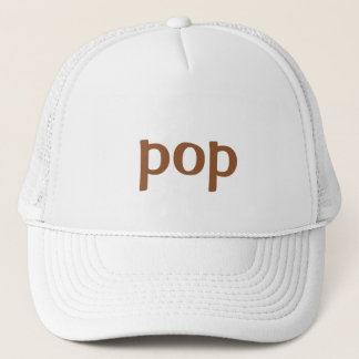 pop trucker hat