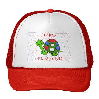 Pop Turtle 4th! Cap