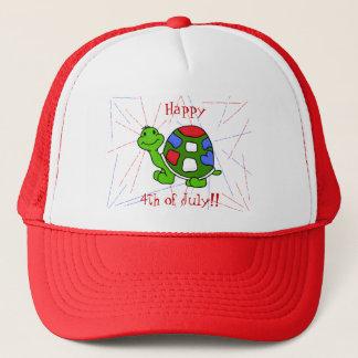 Pop Turtle 4th! Trucker Hat