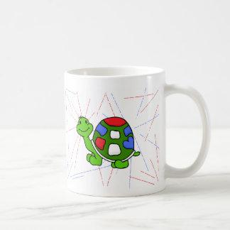 Pop Turtle Basic White Mug
