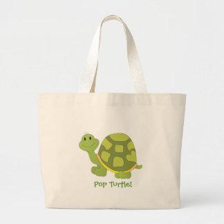 Pop Turtle! Jumbo Tote Bag
