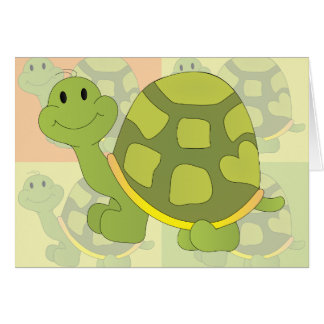 Pop Turtle! Note Card