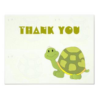 Pop Turtle Thank You Notes 11 Cm X 14 Cm Invitation Card