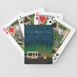 Pop Up Camping Under The Stars- Martin Poker Deck
