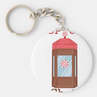Pop-Up Shop Basic Round Button Key Ring