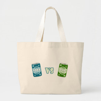 Pop vs Soda Canvas Bag