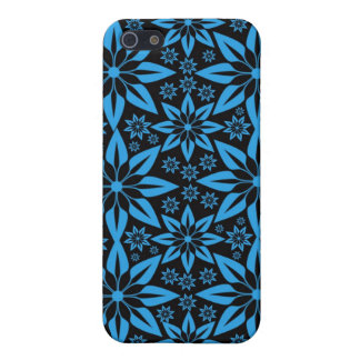 PopArt Blue & Black Star Design  iPhone Case Case For The iPhone 5