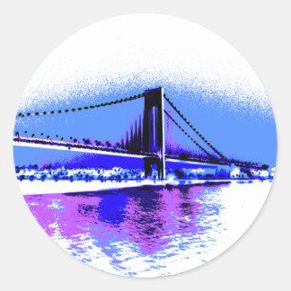 PopArt Bridge sticker