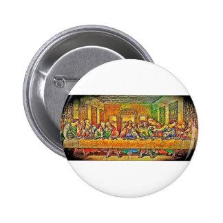 PopArt da Vinci 6 Cm Round Badge
