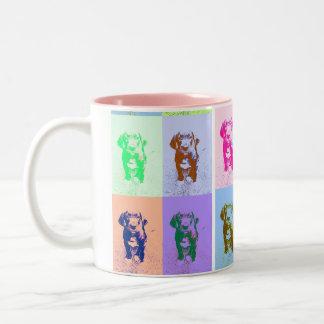 PopArt great dane Puppy Coffee Mug