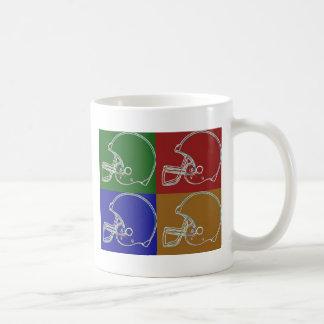 PopArt Helmet Coffee Mug
