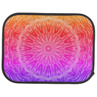 PopArt Love Power Mandala Floor Mat