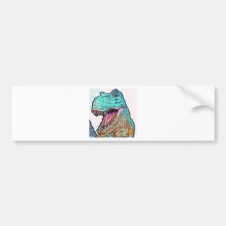 PoPArt T-Rex Bumper Sticker