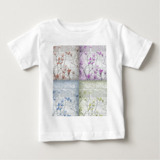 popart,vintage style,grunge,floral,beautiful,girly t-shirt