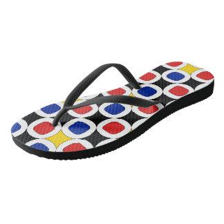 Popart - white flip-flops flip flops