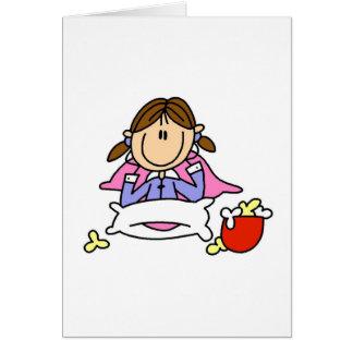 Popcorn And Pajamas Card