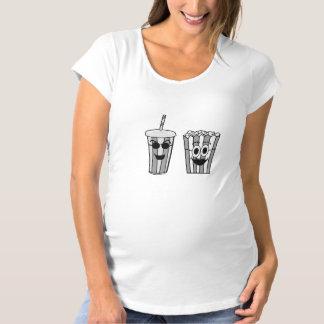 popcorn and soda maternity T-Shirt