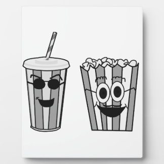 popcorn and soda plaque