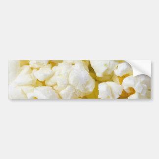 Popcorn Background Bumper Sticker