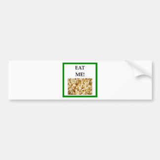 popcorn bumper sticker