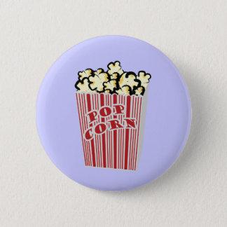 Popcorn Button! 6 Cm Round Badge