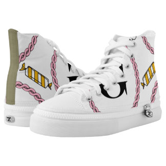POPCORN & CANDY G-ZIP SHOE PRINTED SHOES