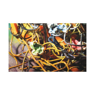 """Popcorn & Carrots #02"" Canvas Print"