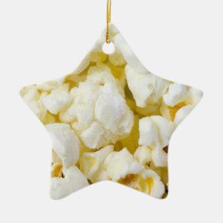 Popcorn Ceramic Star Decoration