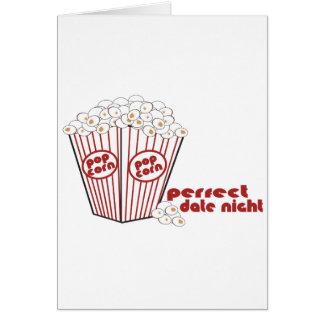 Popcorn Date Night Card