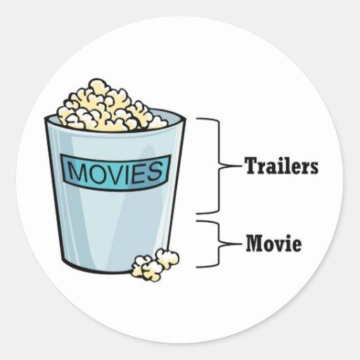 Popcorn Full Stickers