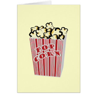 Popcorn greeting card that you create!