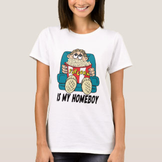 Popcorn is My Homeboy T-shirts Gifts
