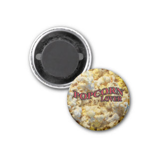 Popcorn Lover Gifts and Apparel Magnet