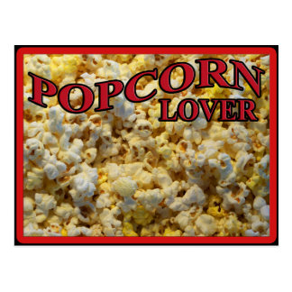 Popcorn Lover Gifts and Apparel Postcard