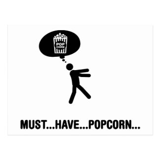Popcorn Lover Postcard