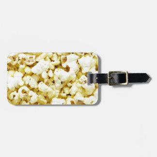 Popcorn Madness Luggage Tag
