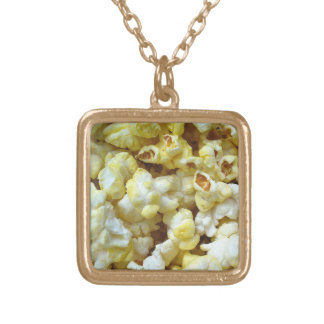 Popcorn Nacklace 0001 Gold Plated Necklace
