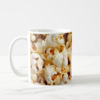 Popcorn on 325ml size white mug