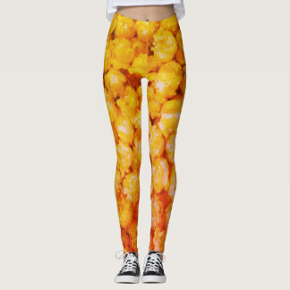Popcorn Orange - Leggings