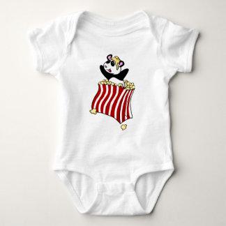 Popcorn Panda! Baby Bodysuit