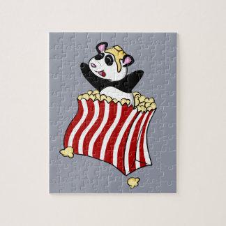 Popcorn Panda! Jigsaw Puzzle